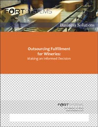 Outsourcing Fulfillment for Wineries