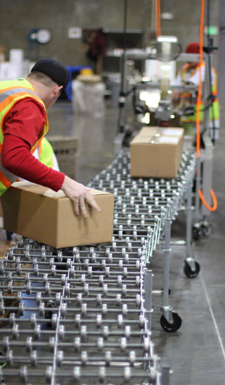 FORT warehouse fulfillment line